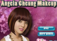 Angela Cheung, maquillage