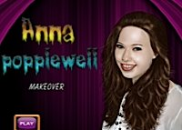 Anna Popplewell, maquillage