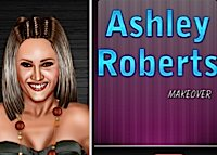 Ashley Robert, maquillage