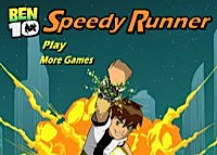 Ben 10 - speedy runner