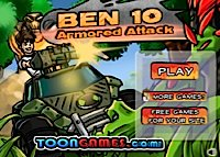 Ben 10 - Armored attack