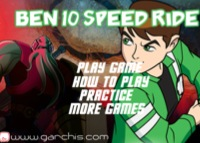 Ben 10 - speed ride