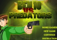 Ben 10 vs Predators