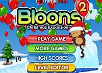 jeu Bloons 2 - Christmas Expansion