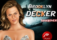 Brooklyn Decker, maquillage