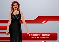 Courtney Thorne, habillage