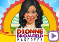 Dionne Bromfield, maquillage