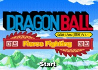 DragonBall - fierce fighting