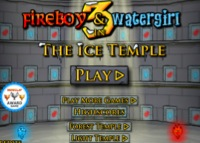 jeu Fireboy & Watergirl - 3 : The ice temple