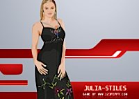 Julia Stiles, habillage