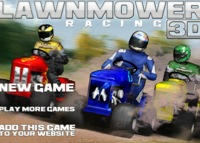 jeu Lawnmower racing 3d