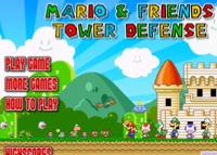 Mario and friends - tower defense