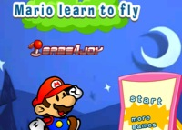 jeu Mario learn to fly