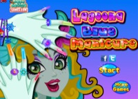 jeu Monster High : Lagoona Blue - Manucure