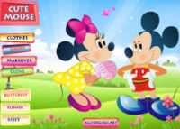 jeu minnie et mickey mouse
