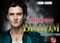 Orlando Bloom, maquillage