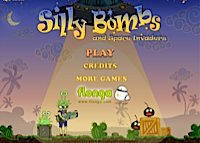 jeu Silly bombs and space invaders