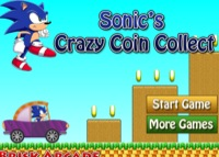 jeu Sonic's Crazy Coin Collect