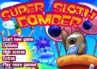 jeu Super Sloth Bomber