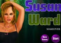 Susan Ward, maquillage