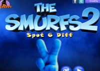 jeu The Smurfs - spot 6  diff