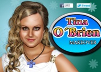 Tina O'Brien, maquillage