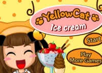 yellow-cat-icecream